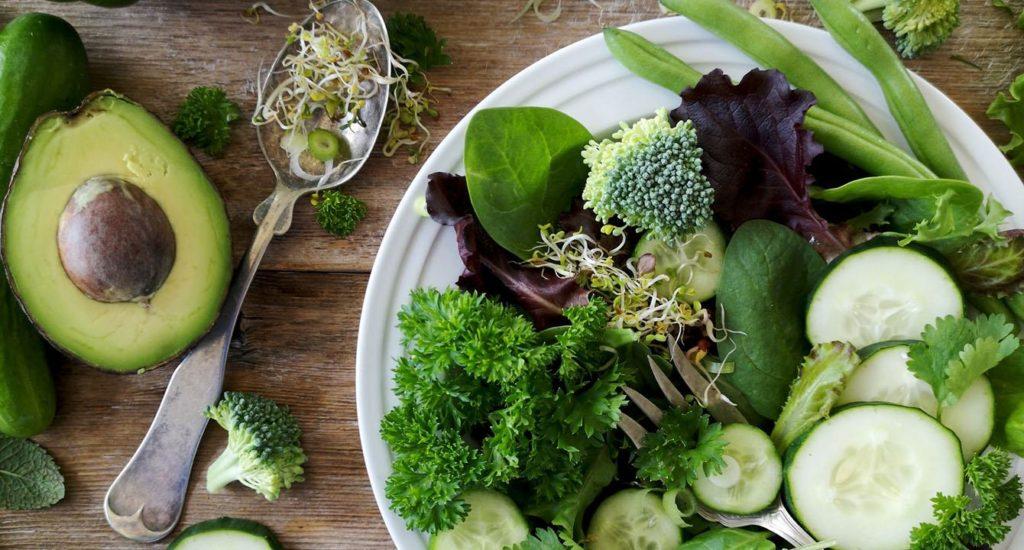 Vegaaninen ketodieetti ateria